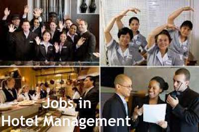 Jobs in Hotel Management