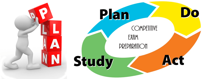 an ideal study plan for competitive exam preparation