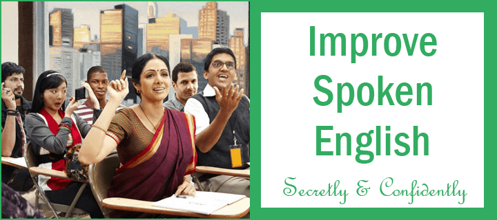 improve spoken English
