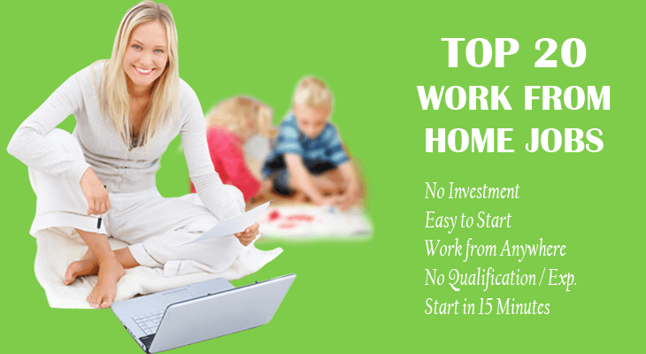 20 Work From Home Jobs Earn 30 000 Monthly Without Investment