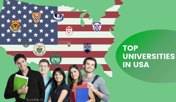 top US universities